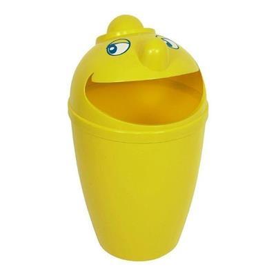 Affaldsspand, 75 l, gul