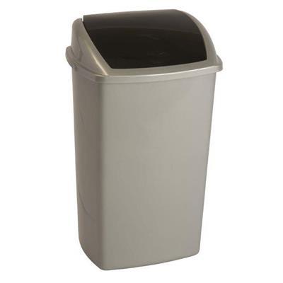 Affaldsspand, 50 l, grå