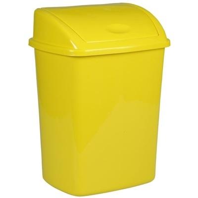 Affaldsspand, 26 l, gul