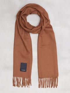 J Lindeberg Champ solid wool scarf Halsdukar & scarves Brown