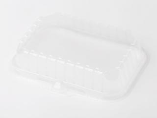 Låg klar plast t/skumbakke S2 lav 252stk/pak YCI8-S2S0