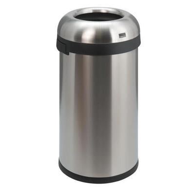 Affaldsspand, Simplehuman, 60 l, stål mat
