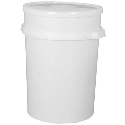 Affaldsspand, 50 l, hvid