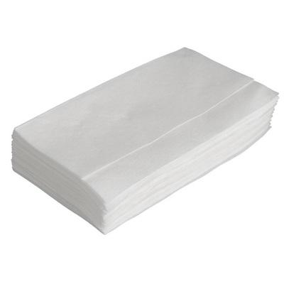 Dispenserserviet, 1-lags, novafold, 33x32cm, hvid, 100% nyfiber