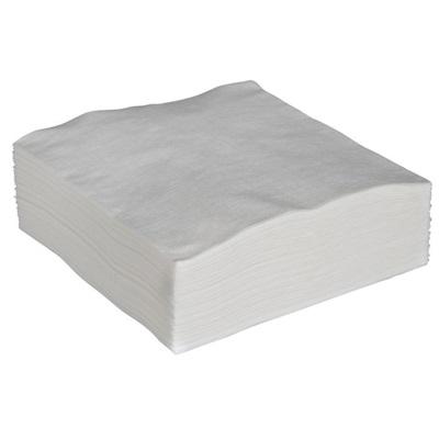 Økonomiserviet, 1-lags, 1/4 fold, 32x33cm, hvid, papir