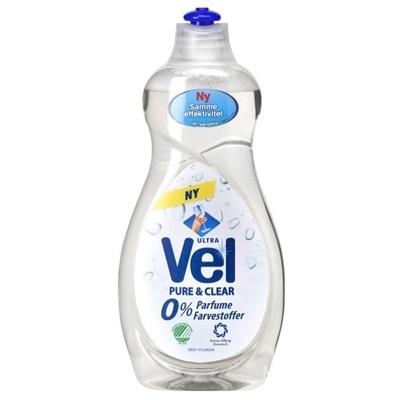 Håndopvask, Vel, 500 ml, uden farve og parfume