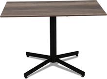 Classic cafébord Svart med laminatskiva 110x70 cm