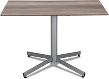 Classic cafébord Silver med laminatskiva 110x70 cm