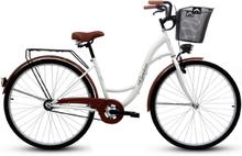 "Cykel Eco 28"" - vit"