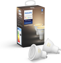 Philips Lampa Hue White Ambiance GU10 2-pack