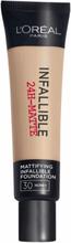 L'Oreal Infallible 24H Matte Foundation 30 Miel Honey 35 ml