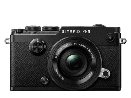 Olympus PEN-F Pancake Zoom Kit black