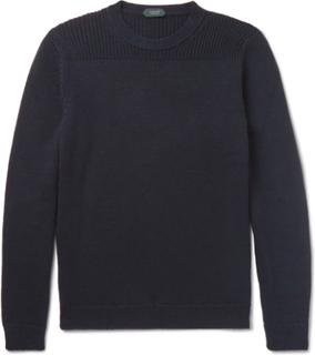Wool Sweater - Navy