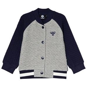 Hummel Joe Jacket Grey Melange 68 cm (4-6 mdr) - Babyshop