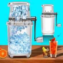 Household Mini Easy Ice Shaver Crusher Handheld Snow Manual Crushing Ice Machine Fried Ice Machine
