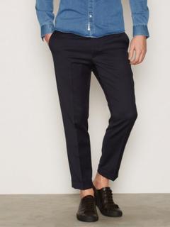 Filippa K M. Terry Cropped Trouser Bukser Navy