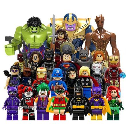 Avengers Blocks Super Heroes Infinity War Thanos Hulk Joker Compatible with LegoINGlys Building Block Figure Toys for Children