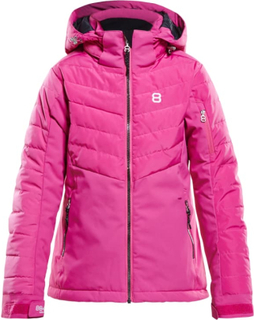 8848 Altitude Tella Junior Jacket Barn skijakker fôrede Rosa 120