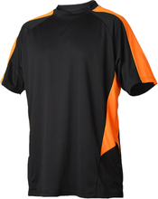 Vidar Workwear V71005209 T-shirt orange/svart XXXL