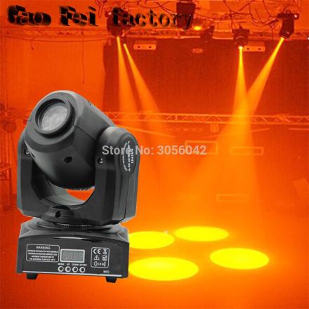 LED Inno Pocket Spot Mini Moving Head Light 10W DMX dj 8 gobos effect stage lights