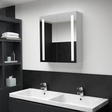 vidaXL LED kylpyhuoneen peilikaappi 62x14x60 cm