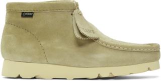 Clarks Originals Beige Beams Edition Suede Wallabee GTX Boots