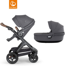 Stokke Trailz Black Duovagn