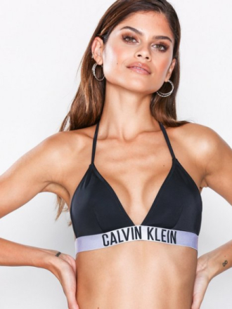 Topp - Black Calvin Klein Underwear Triangle Bikini Top
