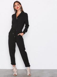 Dr Denim Joline Jumpsuit Jumpsuits Black