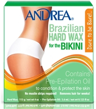 Andrea Brazilian Hard Wax 1 set