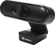 Sandberg Webcam 1080P HD Black