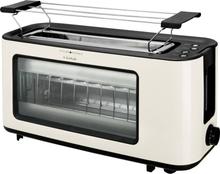 TKG Team Kalorik TKG TO 1012 KTO Toaster med bagel-funktion Cremehvid