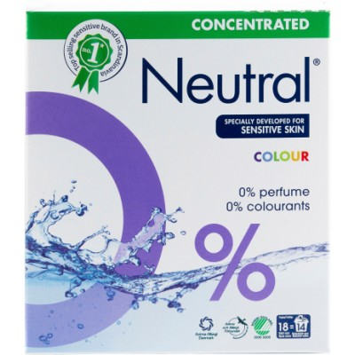 Neutral Koncentreret Vaskepulver Kulørt 675 g