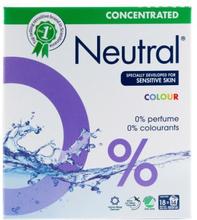 Neutral Tvättmedel Koncentrerat Colour 675 g