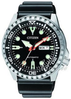 Citizen NH8380-15EE Sort/Gummi Ø46 mm