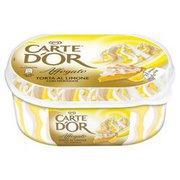 Carte D'Or - Lody o smaku ciasteczek i lody cytrynowe z polewą ...