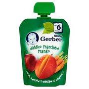 Gerber - Deserek jabłko, marchew, mango po 6 miesiącu