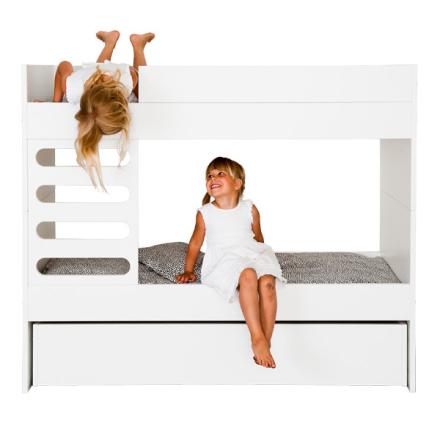 AVA Room AVA Kids kerrossänky, valkoinen