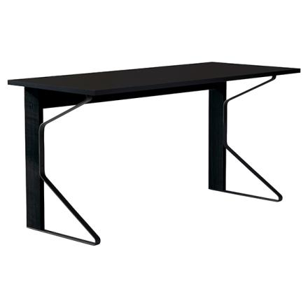 Artek REB 005 Kaari työpöytä, musta HPL / musta tammi