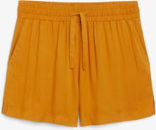 Drawstring shorts - Yellow