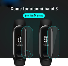 5 PCS/Lot Glass For Xiaomi Mi Band 3 Smart Bracelet Screen Protector Film For Xiaomi Mi Band 3 HD Ultra Thin Protective Film