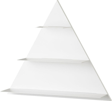 Design Letters White Paper Triangle seinähylly