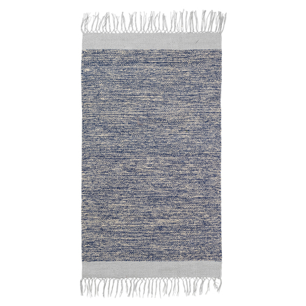Ferm Living Melange kylpyhuoneen matto, sininen-harmaa
