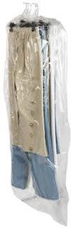 Dragtpose i klar plast 60x90cm