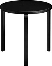 Artek Aalto pöytä 90C, kokomusta