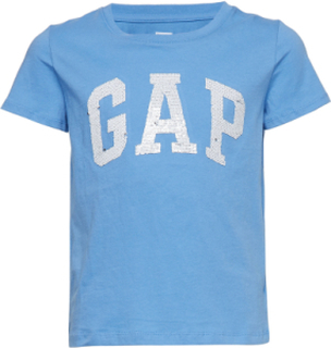 V-Gap Flp Tee T-shirt Blå GAP