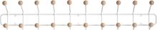 Maze Bill Horizontal seinänaulakko, L, valkoinen