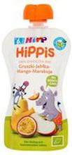 HiPP - Mus owocowy,100% owoców gruszka-jabłko-mango-marak...