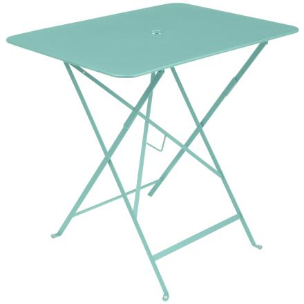 Fermob Bistro pöytä 77 x 57 cm, blue lagoon