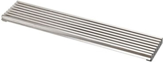 Beslag Design Ventilationsgaller 598x125 Rostfritt